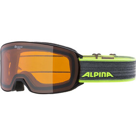 Alpina Alpina Nakiska DH Goggles, black/neon